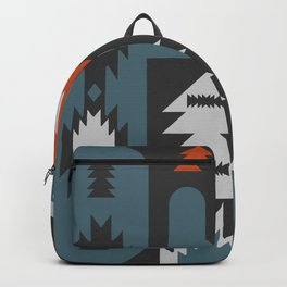Tribal cacti Backpack