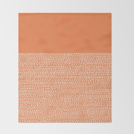 Riverside - Celosia Orange Throw Blanket