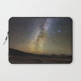 Grand Prismatic Spring Under The Milky Way Laptop Sleeve