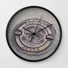 Alien Iron Works Wall Clock