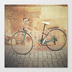 La Bicicleta Canvas Print