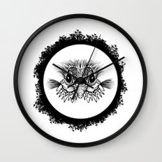 Half Bird Wall Clock