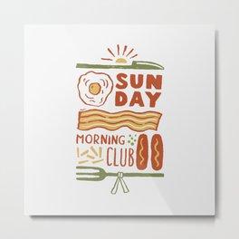 The Club Metal Print