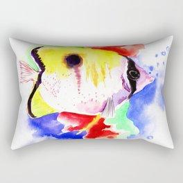 HAwaiian Coral Fish Rectangular Pillow