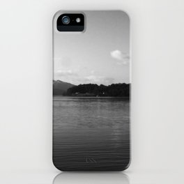 View on the Loch iPhone Case