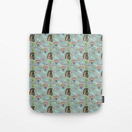 Dog Pattern: Eleanor Tote Bag