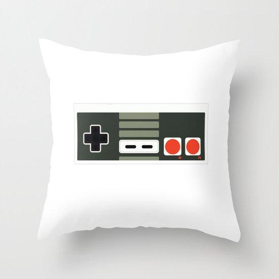 Simply NES Throw Pillow