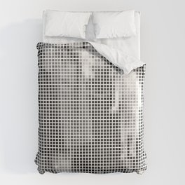 Pixel Elliott Erwitt Comforters