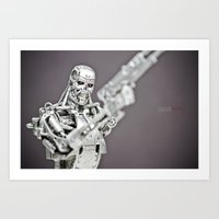 terminator Art Prints featuring Terminator by TJAguilar Photos