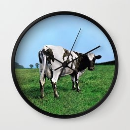 Atom Heart Mother Wall Clock