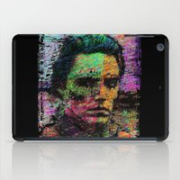christopher walken iPad Cases featuring Walken Around Town by brett66