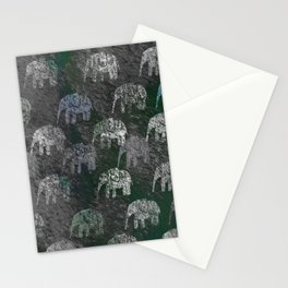 Elephants are going Stationery Cards