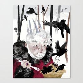 Blackbird Pie Canvas Print