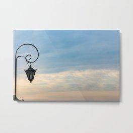 Streat lamp Metal Print