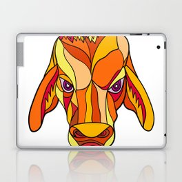 Brahma Bull Head Mosaic Color Laptop & iPad Skin