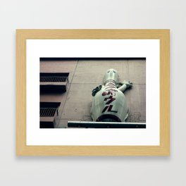 pinup Framed Art Print