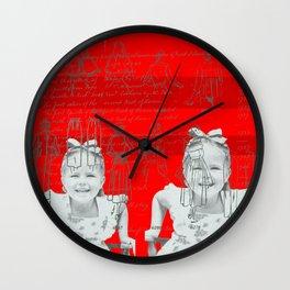 HEE HEE Wall Clock