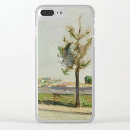 Road to Gennevilliers Clear iPhone Case