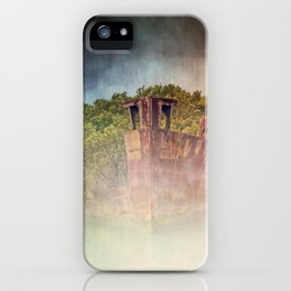 Ghostly Garden Shipwreck iPhone Case