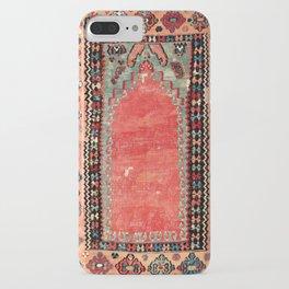 Sivas  Antique Cappadocian Turkish Niche Kilim Print iPhone Case