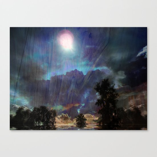 Blend Back From Affar Canvas Print