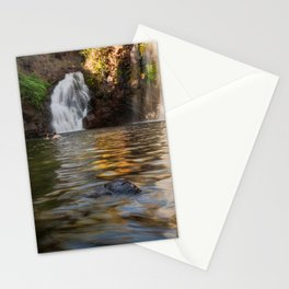 Swimming at Florence Falls in Litchfield NP, Australia Stationery Cards