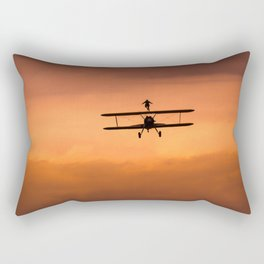 Free Flight Rectangular Pillow