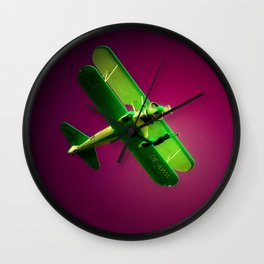 On the Wing Wall Clock