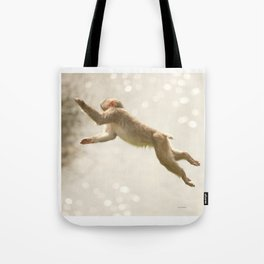 Monkey Jump Tote Bag