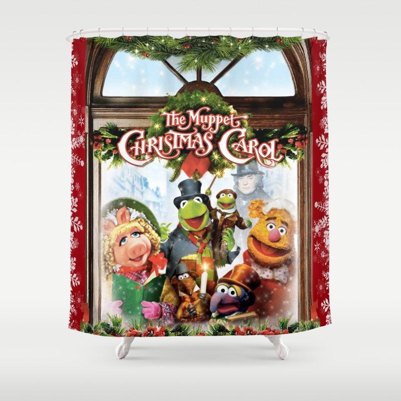 The Muppet Christmas Carol Shower Curtain by Emdavis27 CTN7821293