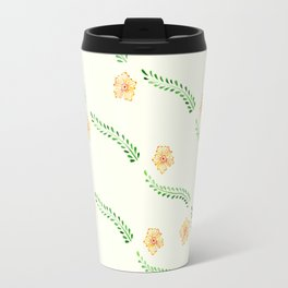 Orange Blossoms Travel Mug
