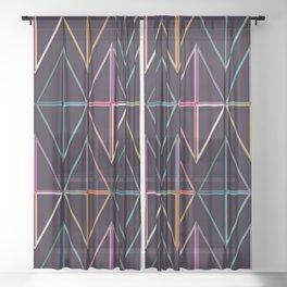 GEO BG#3 Sheer Curtain
