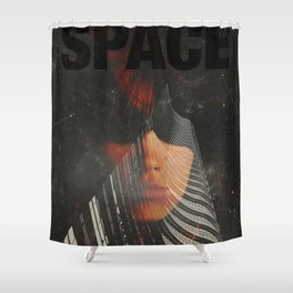 Space1968 Shower Curtain