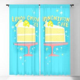 All American Classic Lemon Chiffon Cake Blackout Curtain
