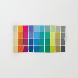 Colorful Soul - All colors together Hand & Bath Towel