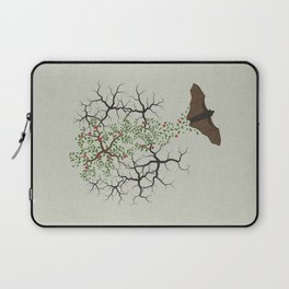 fruit bat paints forest Laptop Sleeve