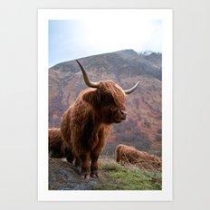 Highlander - I Art Print