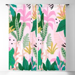Into the jungle - sunup Blackout Curtain