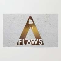 bastille Area & Throw Rugs featuring Bastille #1 Flaws by Thafrayer