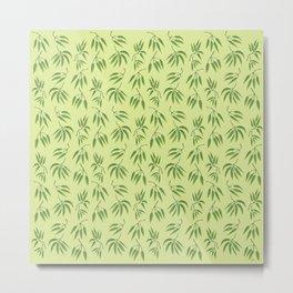 Bamboo leaf Metal Print