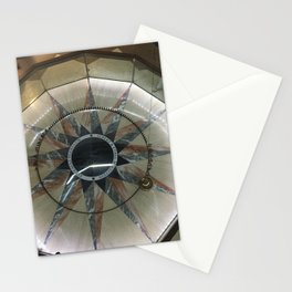 Foucault Pendulum from Above Stationery Cards