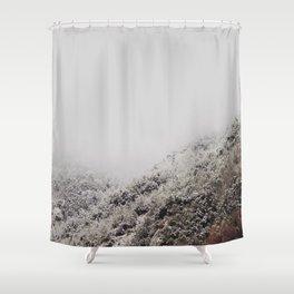 White breath Shower Curtain