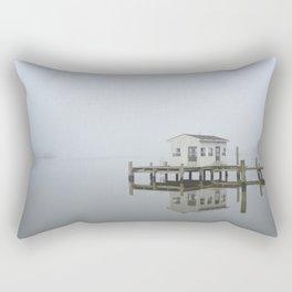 Eastern Branch Boat House Rectangular Pillow