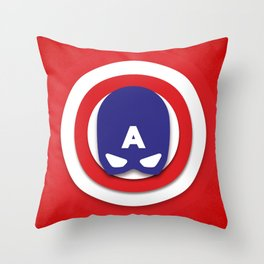 Star-Spangled Man Throw Pillow