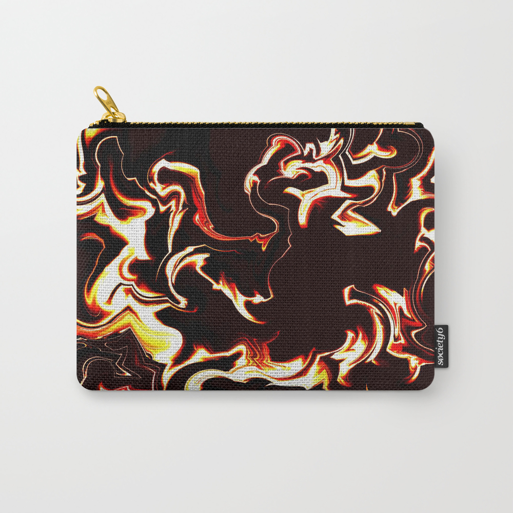 Burn Baby Burn Carry-all Pouch by Vwdigitalpainting CAP8762319