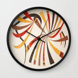 Abstract art 001 Wall Clock