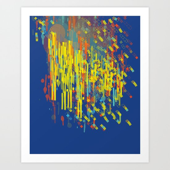 colorfall Art Print