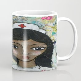 Nurse - African American  Coffee Mug