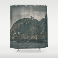 storm Shower Curtains featuring Storm by Rafael Igualada