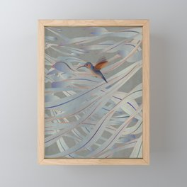 A fleeting moment Framed Mini Art Print